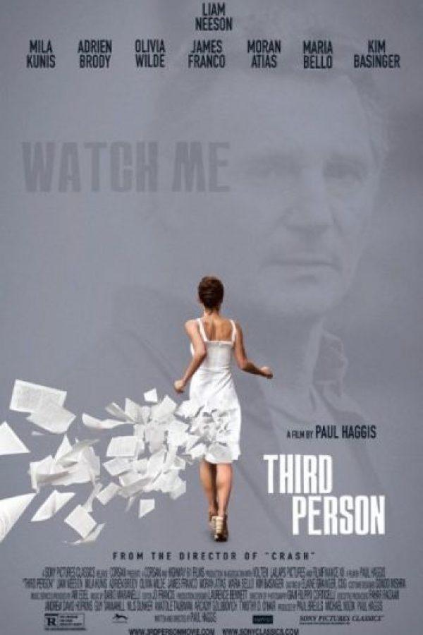 Liam Neeson de 58 años y Olivia Wilde de 29 años le dieron vida a una pareja de amantes protagonizada por un hombre de 61 y una joven de 29 años. Foto:IMDB