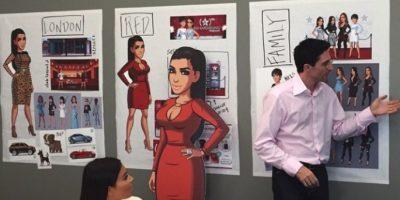 Y tiene su propio videojuego Foto:vía instagram.com/kimkardashian