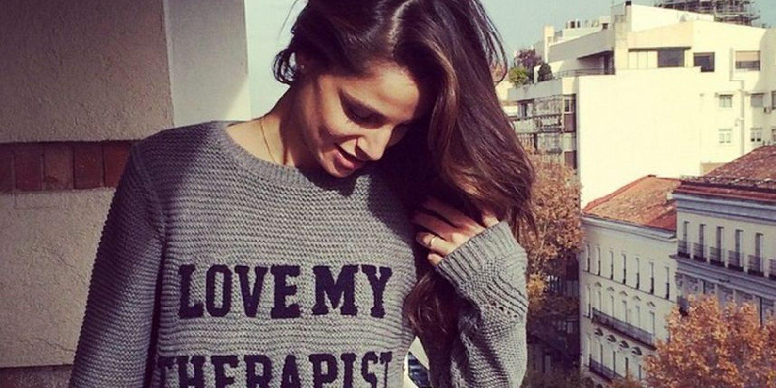 """Es la actual novia de """"Chicharito"""" Foto:Vía instagram.com/lucia_villalon"""