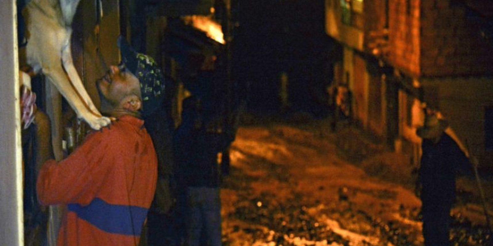 El deslave de Salgar es el peor desastre natural que haya enfrentado Colombia desde el terremoto de 1999. Foto:AFP