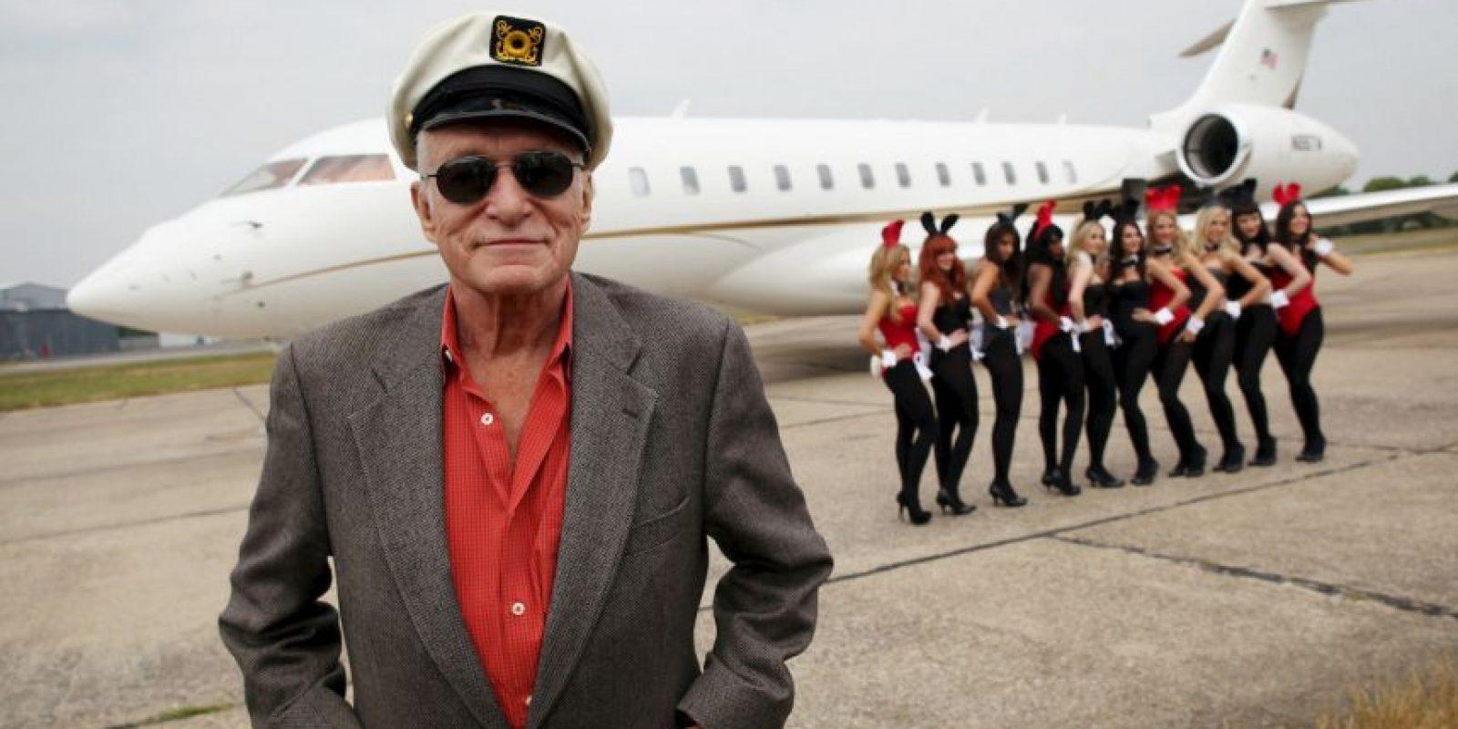 """""""Playboy"""" sigue siendo la revista para hombres más vendida, con alrededor de tres millones de ejemplares al mes Foto:Getty Images"""