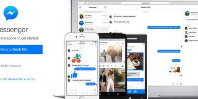 El cliente web es una reciente incorporación para el chat de Facebook Foto:Facebook