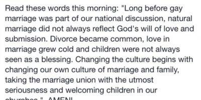 Sí, Matt creía que los gay no eran amados por Dios. Y ahora toda su comunidad lo excusa y trata de protegerse. Foto:vía Facebook