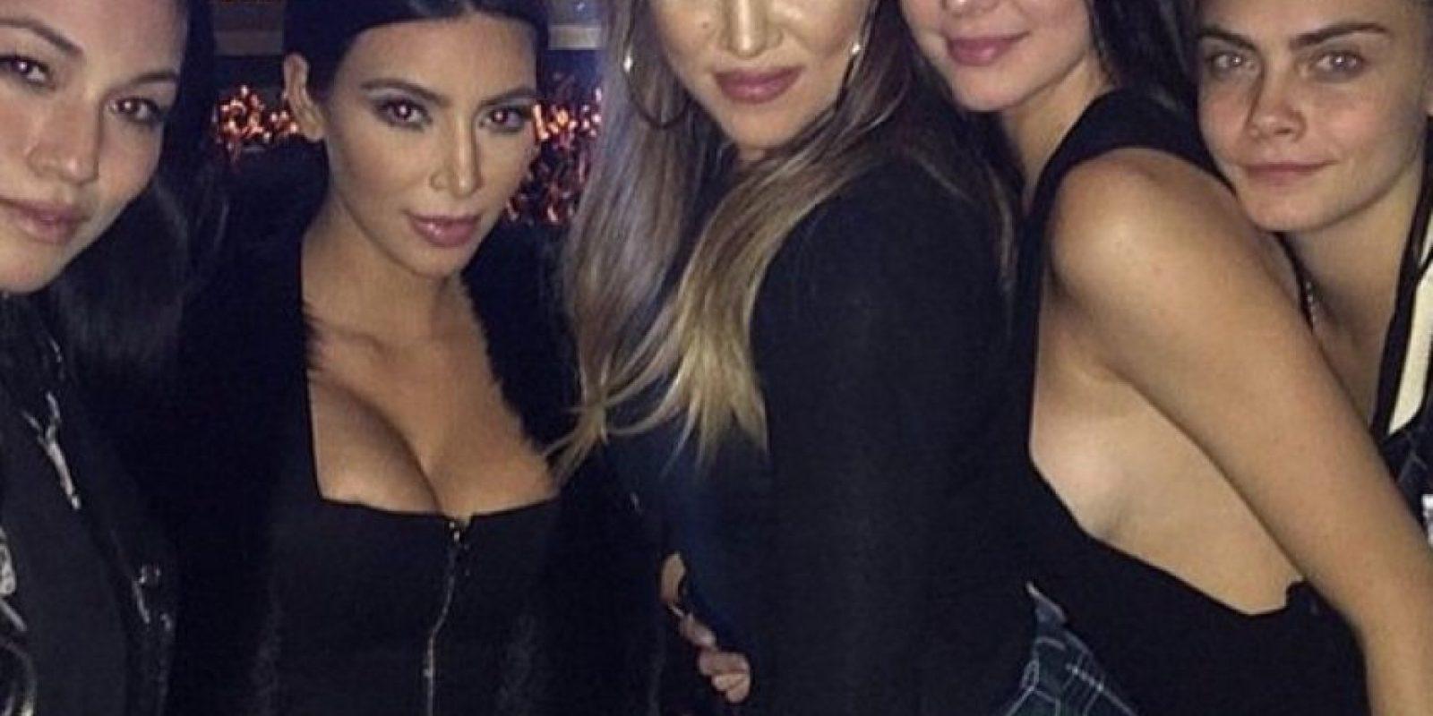 """Las hermanas Kardashian son las """"celebrities"""" más populares de la actualidad. Foto:Vía instagram.com/khloekardashian"""