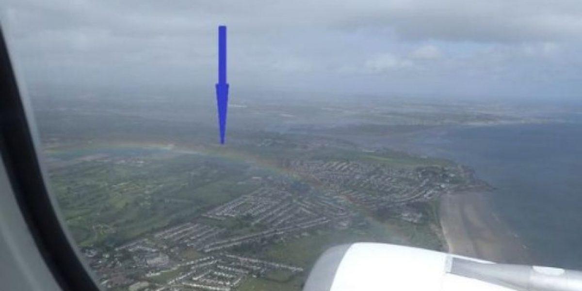 FOTOS: Apareció el arcoiris tras la legalización del matrimonio gay en Irlanda