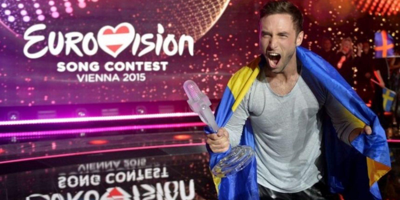 Mans Zelmerlöw, ganador de Eurovisión 2015. Foto:AFP