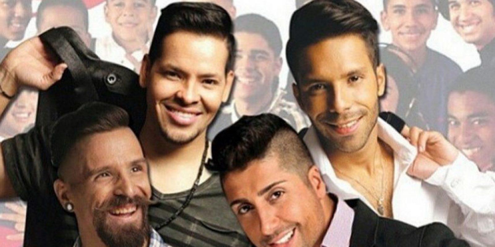 Renne, Renny, Jose y Toñito Foto:Instagram El regreso del swing