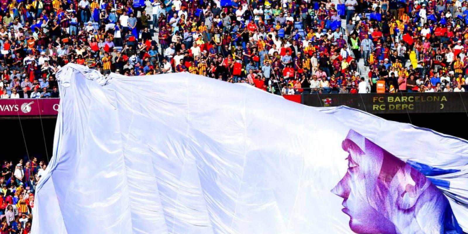 Así fue la despedida de Xavi Hernández como futbolista culé Foto:Getty Images