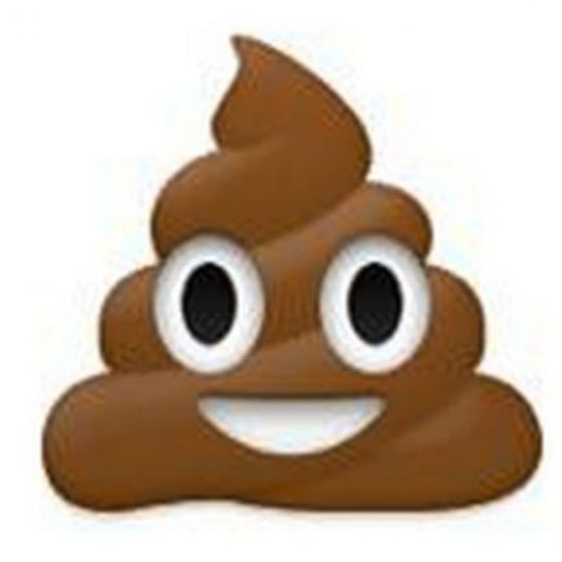 """Usuarios debaten si se trata de """"popo"""" o en realidad es helado de chocolate Foto:emojipedia.org"""