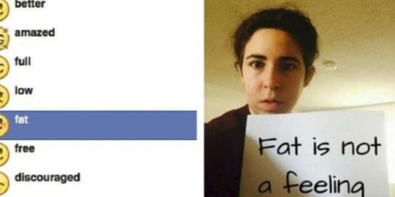 """Facebook tuvo que retirar el emoji que expresaba """"me siento gordo"""" por múltiples reclamos por discriminación y falta de respeto Foto:emojipedia.org"""