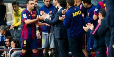 El mediocampista jugó su último partido con la camiseta culé Foto:Getty Images