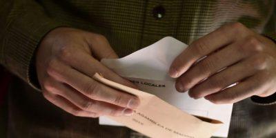 5. A pesar del cambio, disminuyó la participación de los electores Foto:AFP