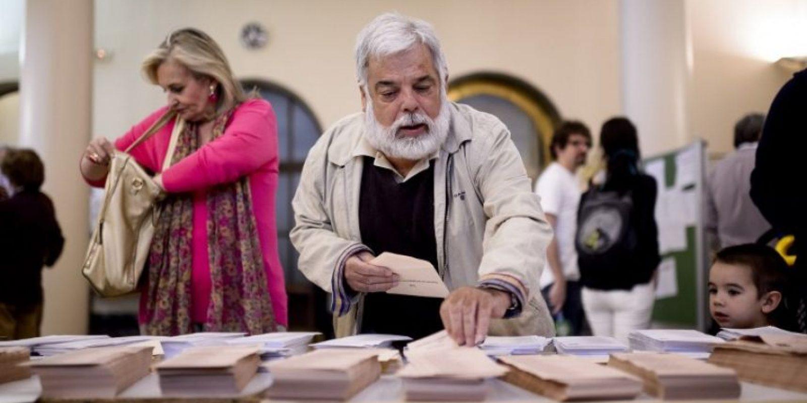 La participación se redujo del 66.16% en 2011 al 64.93 en 2015. Foto:AFP