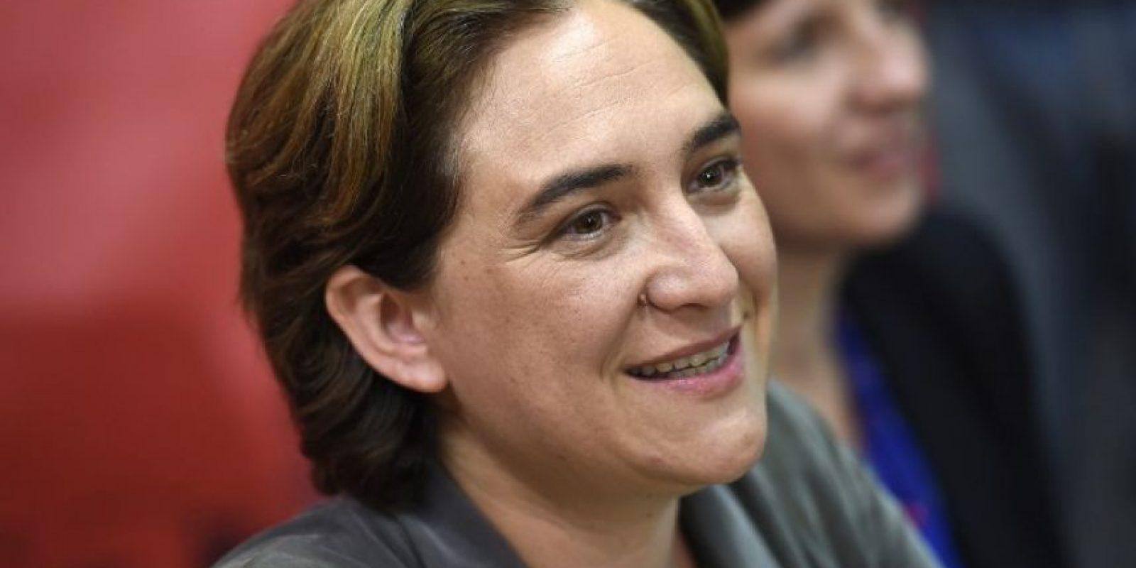 3. Ada Colau, la gran revelación de estas elecciones. Foto:AFP