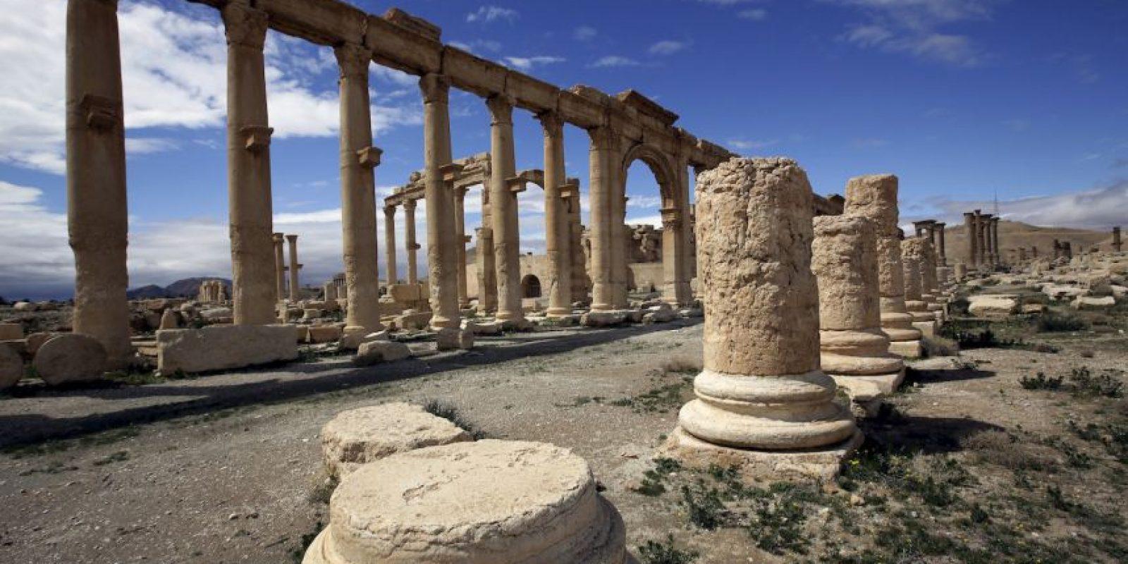 5. Palmira tiene más de dos mil años. Foto:AFP
