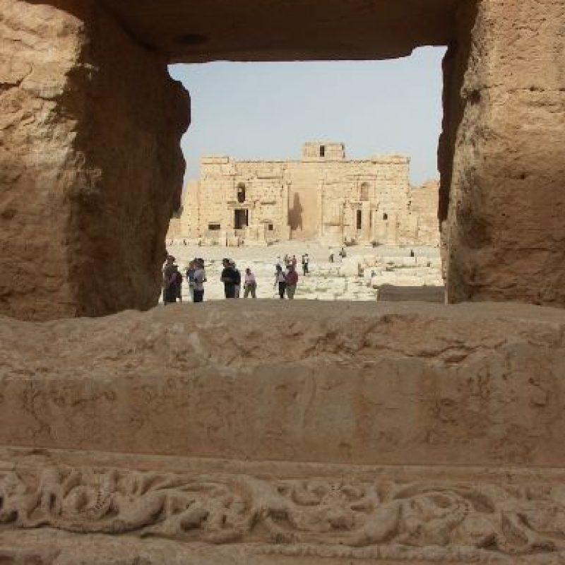 7. Con la toma de ISIS la zona arqueológica enfrenta la amenaza de ser destruida. Foto:AFP