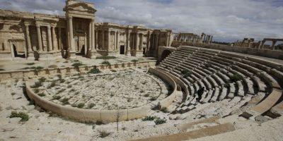 9. Un total de 300 soldados sirios murieron tratando de defender la ciudad. Foto:AFP