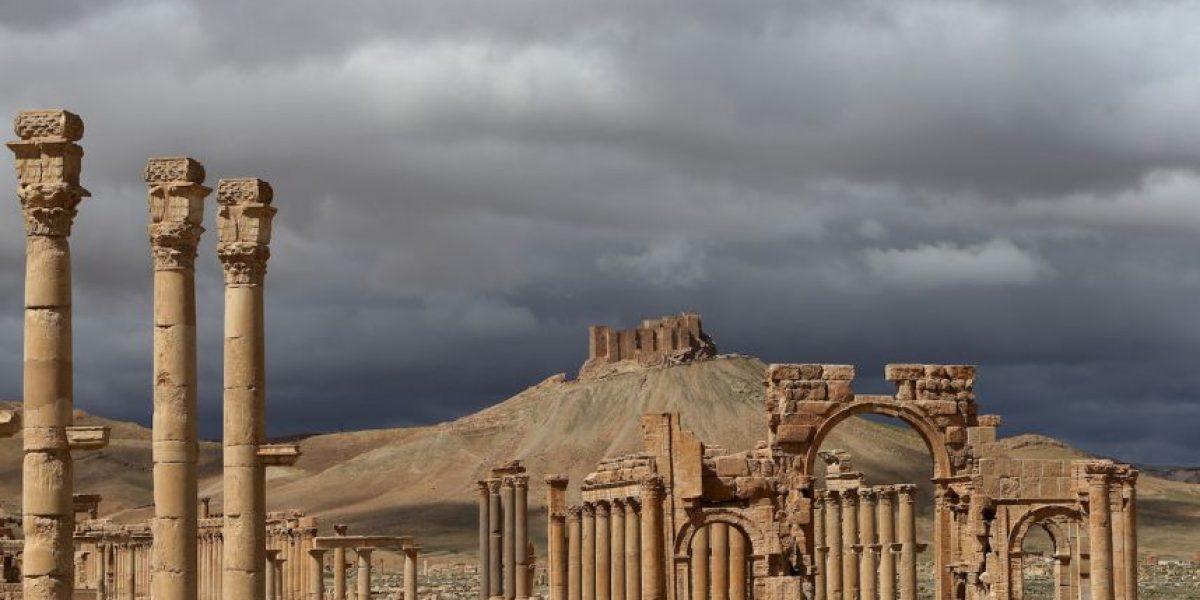 FOTOS: La belleza de las ruinas de la ciudad de Palmira en Siria