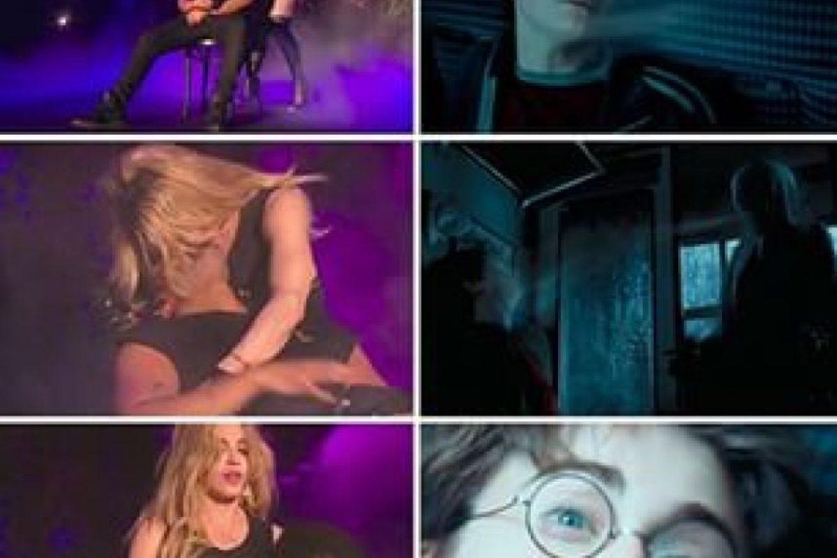 """La reacción de asco del cantante causó gran polémica en las redes sociales, incluso inspiró a la creación de memes, donde los usuarios compararon a la """"Reina del pop"""" con los """"dementores"""" (seres que succionan los buenos recuerdos y almas de las personas) de la saga """"Harry Potter"""". Foto:vía Twitter"""