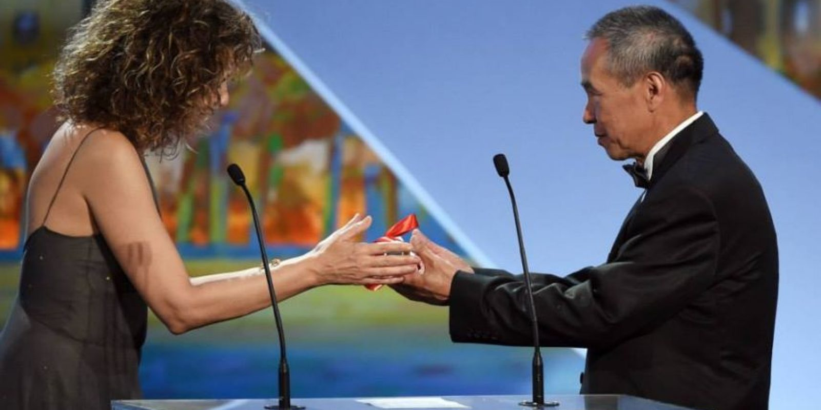 """El director Hou Hsiao-Hsien, de Taiwán, se llevó el premio de """"Mejor director"""". Foto:vía facebook.com/Festival-de-Cannes-Page-Officielle"""
