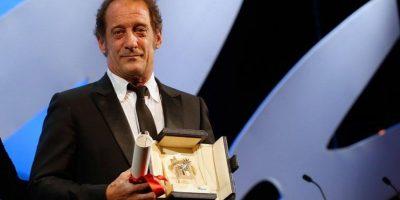 """El actor francés Vincent Lindon se coronó como el """"Mejor Actor"""" por la cinta """"La Loi du marché"""" Foto:vía facebook.com/Festival-de-Cannes-Page-Officielle"""