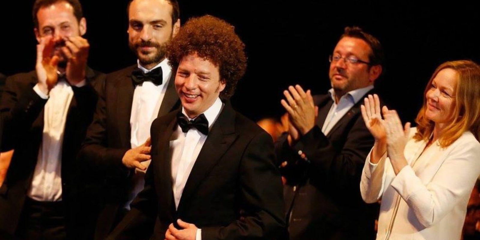 """El director mexicano Michel Franco ganó en la categoría de """"Mejor guión"""" Foto:vía facebook.com/Festival-de-Cannes-Page-Officielle"""