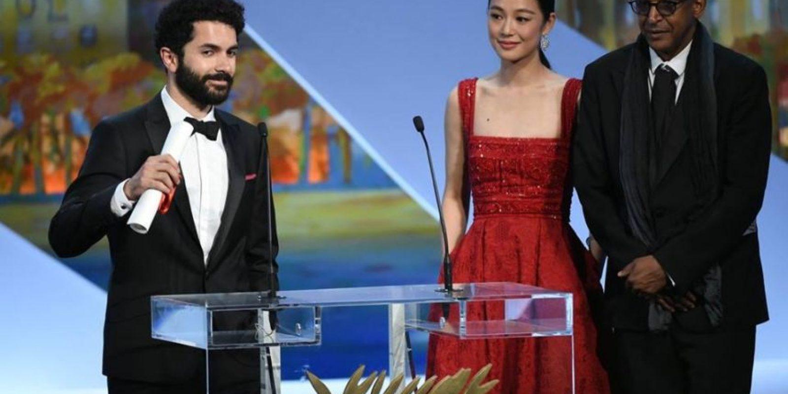 """Ely Dagher, de Líbano, fue el dueño de la Palma de Oro por """"Mejor cortometraje"""" Foto:vía facebook.com/Festival-de-Cannes-Page-Officielle"""