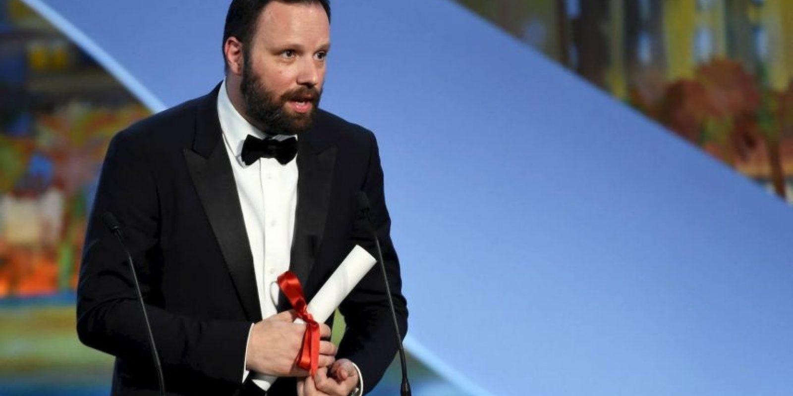 """El director Yorgos Lanthimos, de Grecia, ganó el Premio del jurado por """"The Lobster"""" Foto:vía facebook.com/Festival-de-Cannes-Page-Officielle"""