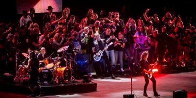 Después de ofrecer un concierto en la Antártica, se convirtieron en la primera y única banda en tocar en los 7 continentes Foto:Getty Images