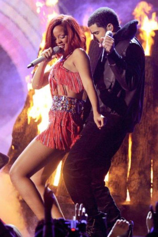 Ahora Drake eligió a Rihanna, con quien parece tener mucha química. Foto:Getty Images