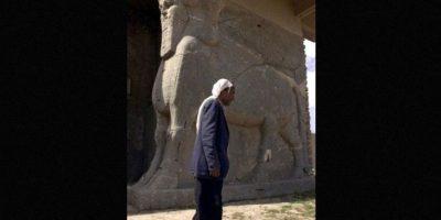 """En su """"limpieza"""" para establecer el Califato, ISIS ha destruyó el Museo Nacional de Irak y edificaciones de la época asiria. Además, destruyó la ciudad de Nimrud, en la que existían edificaciones del siglo XIII. Foto:AFP"""