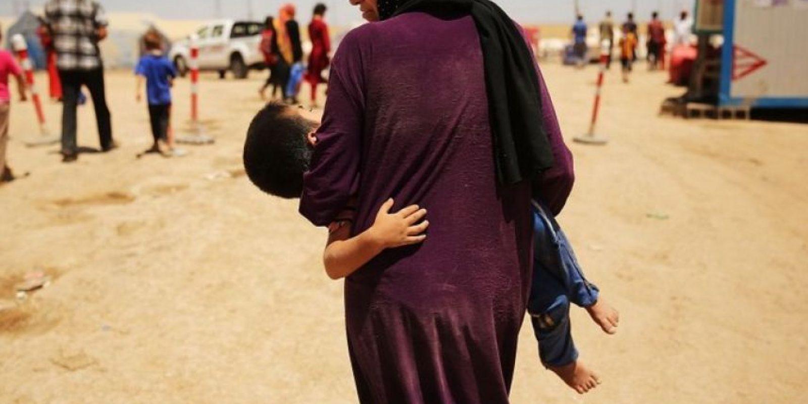 Una de las actividades que financian las operaciones terroristas del grupo Estado Islámico es la trata de personas. Foto:Getty Images
