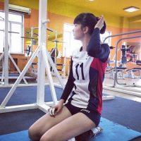 Estuvo en el Campeonato Asiático Sub-19 Foto:Vía instagram.com/altynbekova_20