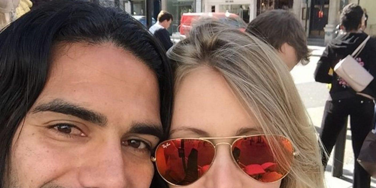 Ella es la esposa del colombiano Radamel Falcao Foto:Vía instagram.com/loreleitaron