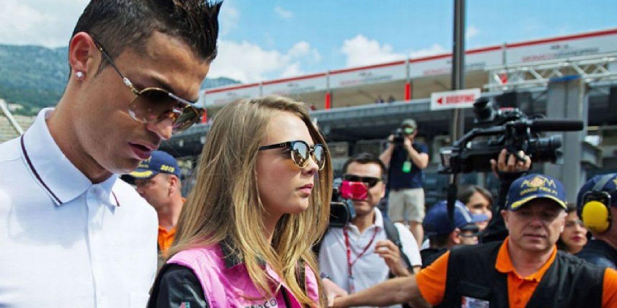 FOTOS: ¿Quién acompañaba a Cristiano en el GP de Mónaco?