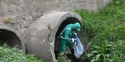 Se recogieron más de 500 kilos de residuos. Foto:Alcaldía Local de Suba
