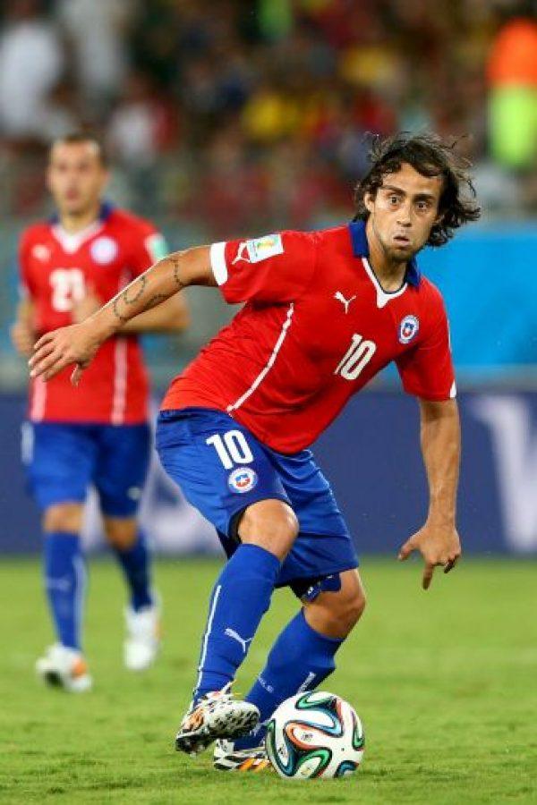 """Jorge """"El Mago"""" Valdivia es su """"10"""" Foto:Getty Images"""