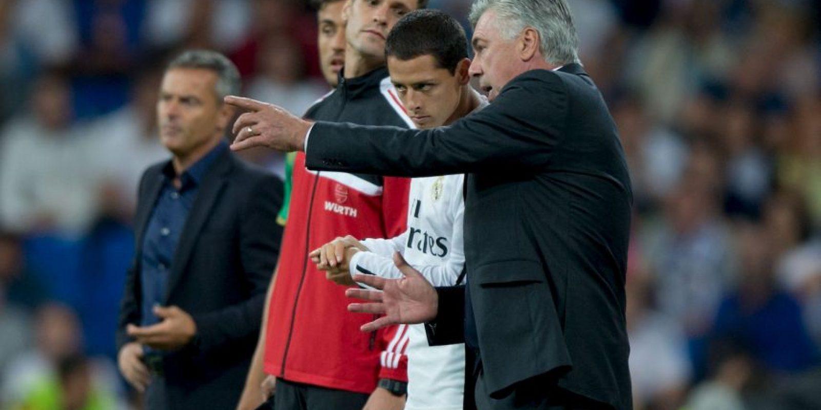Ancelotti se va, aunque la mayor parte de la plantilla del equipo estaba con él. Foto:Getty Images