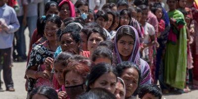 Se registró en la zona de Katmandú, Nepal. Foto:Getty Images