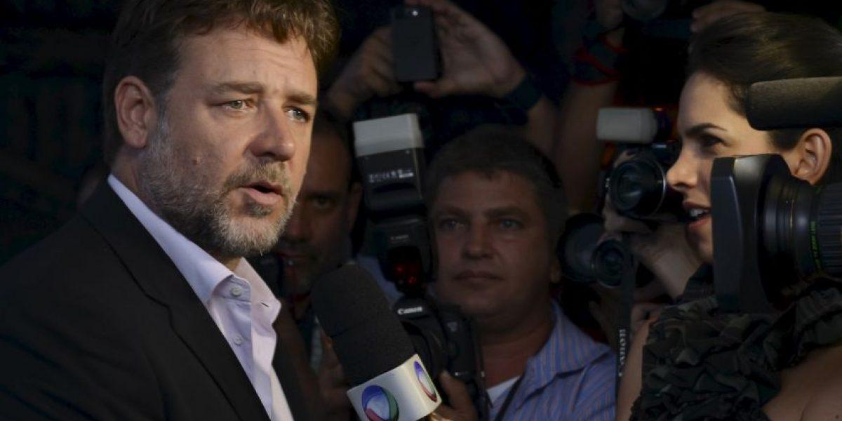 Russell Crowe lamentó la muerte de John Nash en Twitter