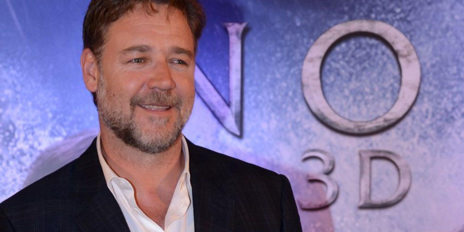 El verdadero nombre del actor es Russell Ira Crowe y nació en Wellington, Nueva Zelanda, el 7 de abril de 1964 Foto:Getty Images
