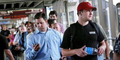 Muchos vuelos se retrasaron. Foto:Getty Images
