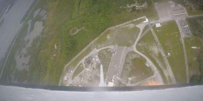 La prueba de la cápsula Crew Dragon de la empresa SpaceX fue un éxito Foto:SpaceX