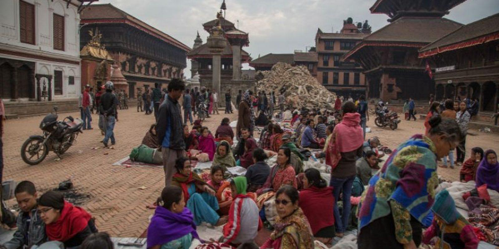 El gobierno y las ONGS que trabajan sobre el terreno afectado de Nepal, se preocupan por los daños que puedan provocar las próximas lluvias. Foto:Getty Images