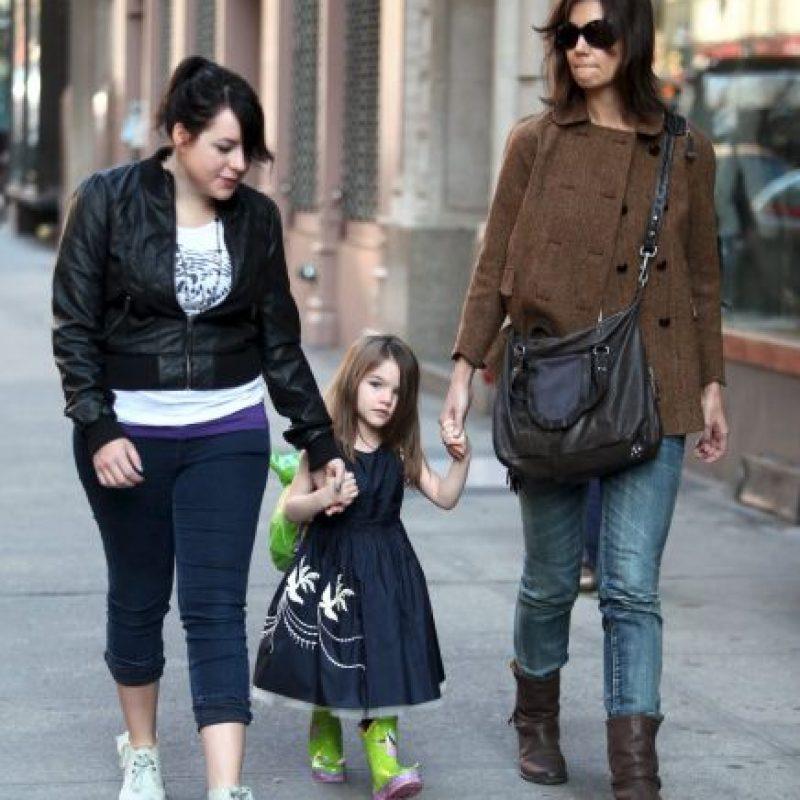 2009, Isabella con Katie Holmes y Suri Cruise Foto:Grosby Group