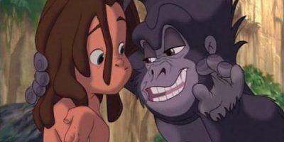 Terk o Turk. Compañero de Tarzán en la película animada de Disney Foto:Wikicommons