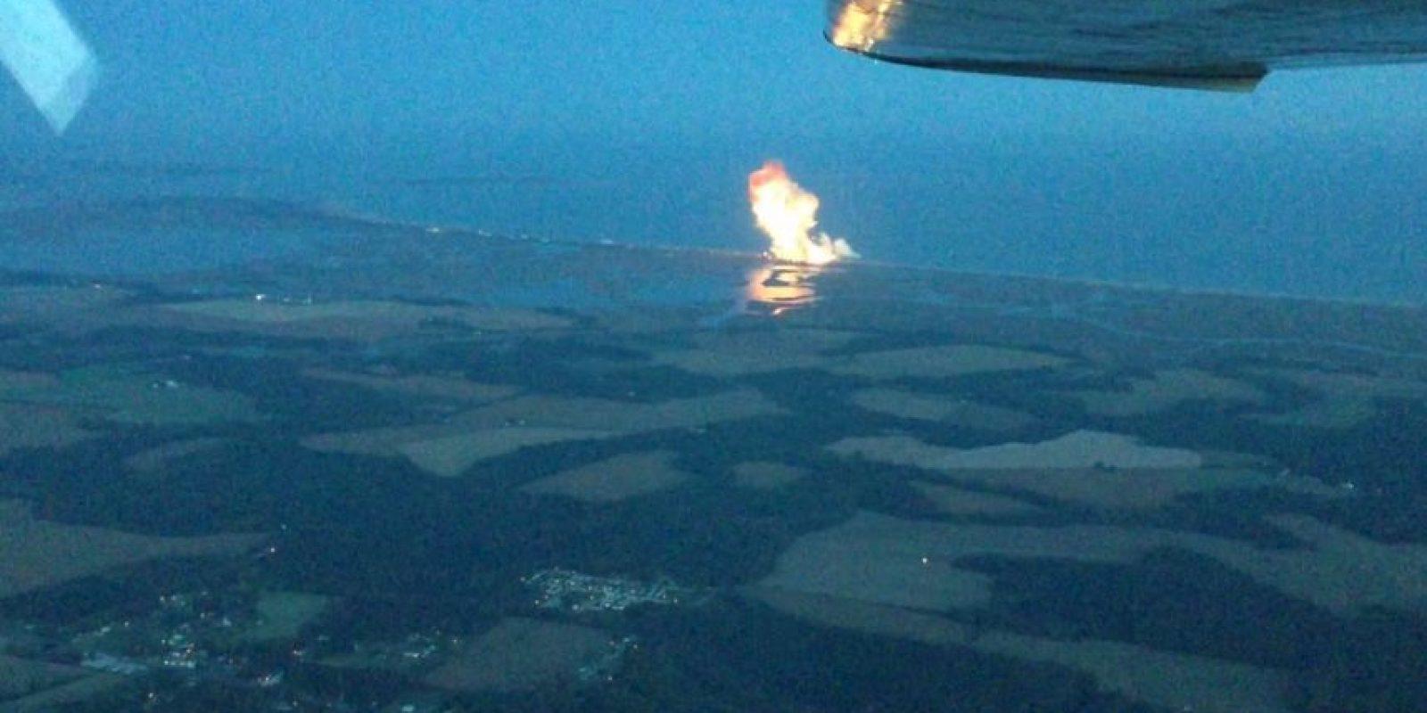 El cohete Antares de Orbital Sciences explotó seis segundos después de despegar Foto:YouTube / Ed Sealing