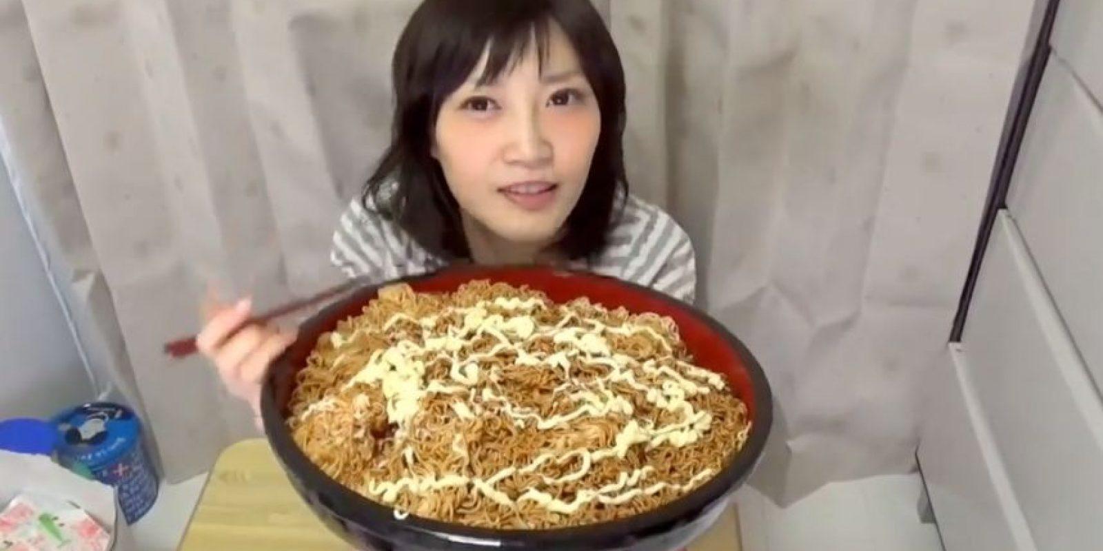 Y comer mucho. Foto:vía Youtube/Yuka Kinoshita