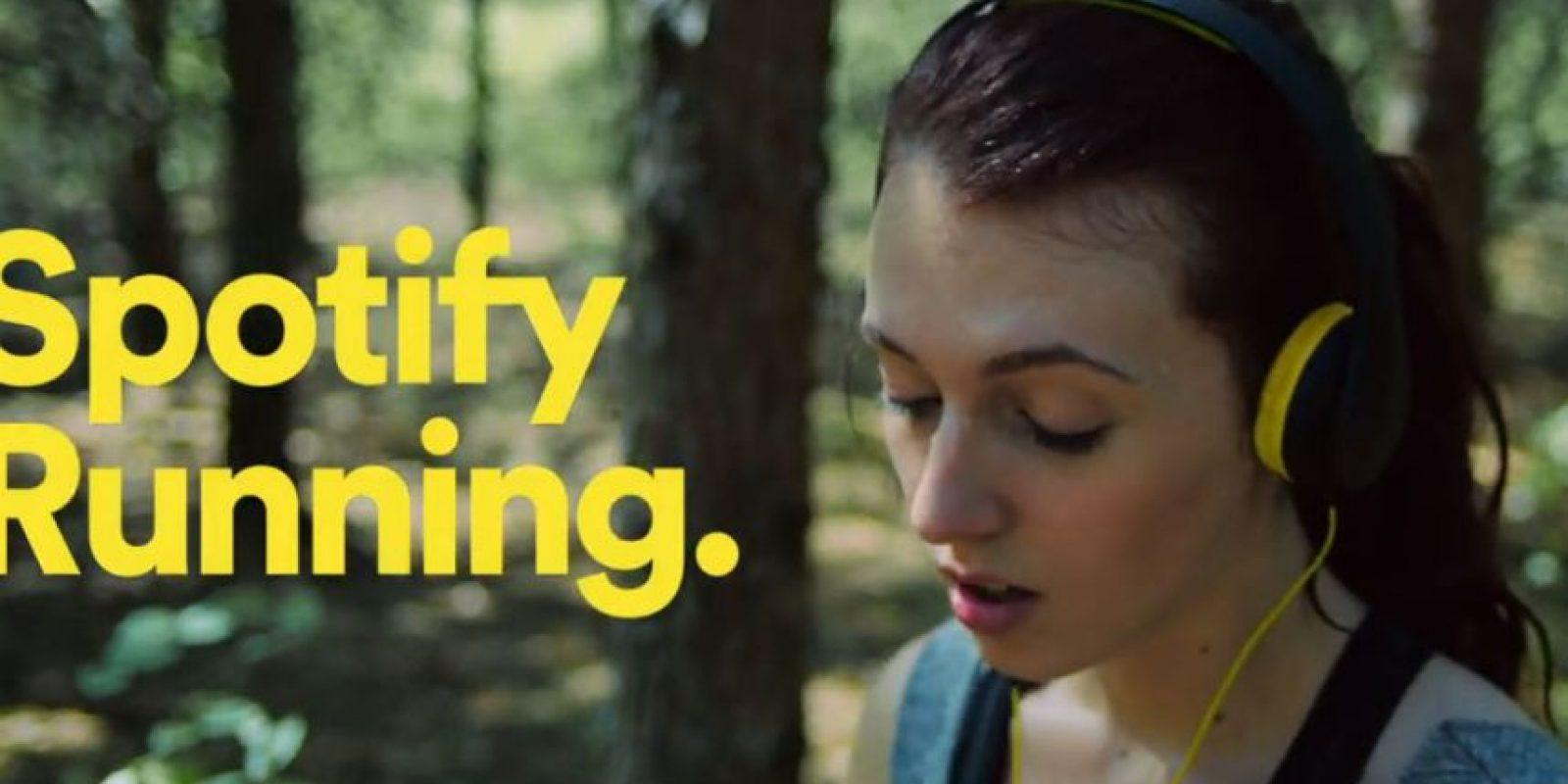 """Según el sitio web """"The Verge"""", la compañía tiene previsto asociarse tanto con Nike como con RunKeeper para integrar su música en streaming a algunas de las aplicaciones de fitness Foto:Spotify"""