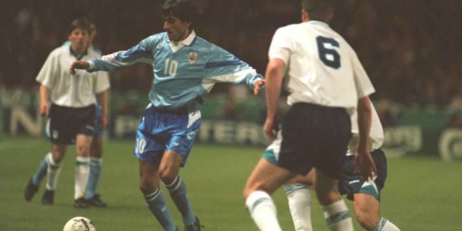 Uruguay se coronó en su casa en 1995 Foto:Getty Images